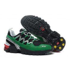 Nagelneu Salomon GCS Athletic Trail Männerschuhe Schwarz Grün Schuhe Online | Neu Salomon GCS Athletic Trail Schuhe Online | Salomon Schuhe Online Zu Verkaufen | schuheoutlet.net