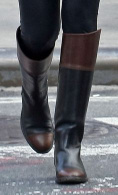 Chanel riding boots. I have to have these boots they are so gorgeous