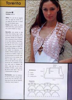 Artesanato Com Amor.By Lu Guimarães: Revista Completa La Moda Al Crochet - Diy Crafts Crochet Gratis, Crochet Diy, Crochet Coat, Crochet Girls, Crochet Jacket, Crochet Cardigan, Irish Crochet, Crochet Shawl, Crochet Clothes