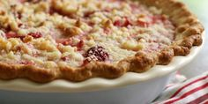 MADE: Strawberry Rhubarb Pie by Anna Olson on Food Network Canada [This is a favourite in our house.]