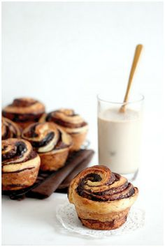 Foodagraphy. By Chelle.: Chocolate brioches