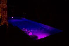 Look at the different colors you can have with LED lights.  #masterpoolsofaustin #atlantisplastering #austinpoolbuilders #custompoolbuildersaustin #pebbletec www.masterpoolsofaustin.com #masterpoolsguild #pool