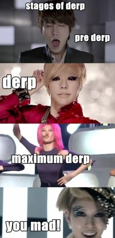 Derp. kpop. BoA is the only one without a derp face, thankyou very much. BoA=Perfection.