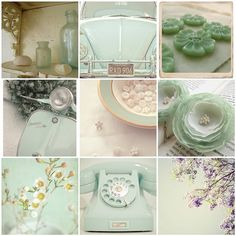 Minty...not so fresh... vintage, just how I like it.