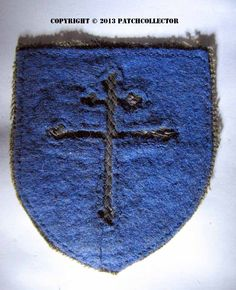 A WW1 era 79th Infantry Division bullion patch - ARMY AND USAAF ...