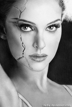 Natalie Portman Drawing by Arief Kurniawan