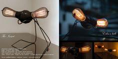 pulsarchitektur - the insect edison bulb edisonbulb. Vintage Lighting, Table Lamp, Bulb, Home Decor, Light Fixtures, Table Lamps, Decoration Home, Room Decor, Onions