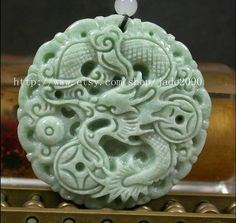 Free Shipping  Amulet auspicious Chinese Dragon by jade2090, $29.99