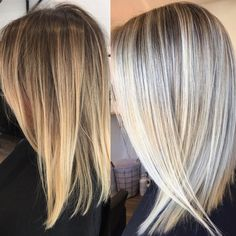 """1,092 Likes, 11 Comments - Hottes Hair Design (@jamiehottes_hair) on Instagram: """"Blonde Goals 🙌🏼 even 9 weeks her colour still looked beautiful but definitely love the freshen up…"""""""