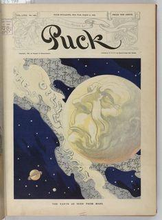 John D. Rockefeller's Earth Covered in Oil, Puck magazine, 1905
