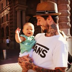 #parentswithtattoos #kids #tattoos #family