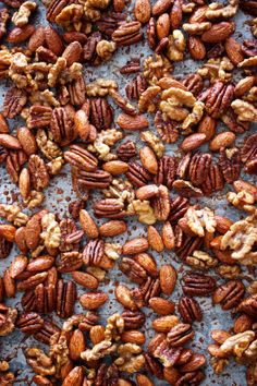 Maple Spiced Candied Nuts