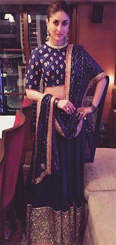 Kareena Kapoor in Sabyasachi Lehenga