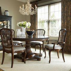 Fine Furniture Design Biltmore Fine Furniture Design Biltmore Carved Back Dining Arm Chair FF-1344-821