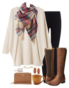 """apple picking"" by marycoulbourn ❤ liked on Polyvore featuring James Perse, EAST, Frye, Kendra Scott, Sur La Table, Tory Burch and Essie"