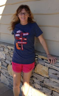 More Pumpkin Preview Stuff -- The supermodel is Kathy Hoover, who finished her 11th 100 miler at Heartland. She is making it two in a row by running the Hunnerd this weekend.