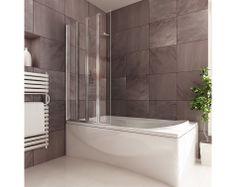 Premier 4 Folding Bath Screen with Fixed Panel | Folding Bath Screens | Splashdirect