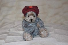 OOAK Bear Max the Crocheted bear JUST REDUCED by Bellalicious-Bears