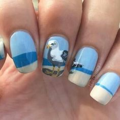 Seagull nails