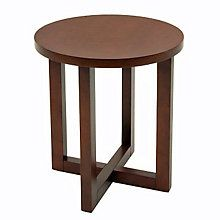 Round Wood End Table, REN-HWTE2123