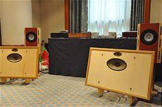 vintage German radio speakers OB