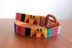 Un favorito personal de mi tienda Etsy https://www.etsy.com/mx/listing/465217174/multicolored-leather-mexican-belt-made