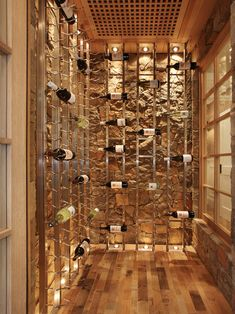 amazing wine room