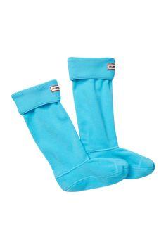Garter Stitch Cuff Boot Socks