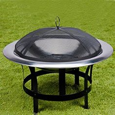 Fire Bowl Grill Garden Heating Fire Pit Brazier Fire Log Basket Patio Heater Bbq Log Burner £42.95 Offer Price: £39.95