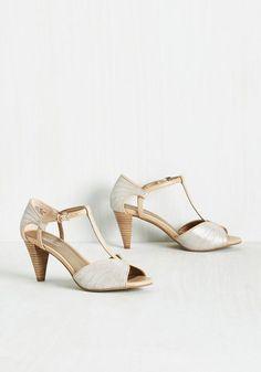 U-Turn Heel in Silver $94.99 AT vintagedancer.com
