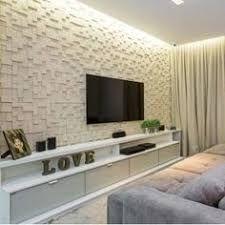 Resultado de imagem para home theater com papel de parede