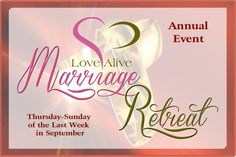 Marriage Retreat Postcard Announcement.