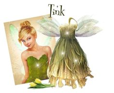 """""""Tinkerbell"""" by citkat777 ❤ liked on Polyvore featuring women's clothing, women, female, woman, misses and juniors"""