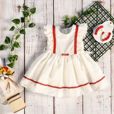 Little Girl Dress - Traditional Motives By AnneBebe - Romanian Brand Little Girl Dresses, Little Girls, Girls Dresses, Traditional Dresses, Baby Dress, Collection, Fashion, Dresses Of Girls, Moda
