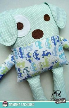 fabric toys Sewing Pillows Animals Fabrics 19 Ideas For 2019 Fabric Toys, Fabric Crafts, Sewing Crafts, Sewing Projects, Fabric Sewing, Sewing Stuffed Animals, Stuffed Animal Patterns, Kids Pillows, Animal Pillows