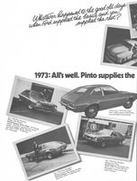Joseph Oliveri Ford Pinto Sedan 1973 Ad Picture