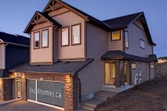 This is one of Excel's most popular floor plans, and we can see why!   Excel Homes - Hadleigh show home, Kincora, Calgary