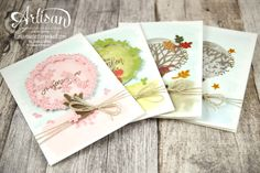 Stampin´ Up! - Wald der Worte - Thoughtful Branches. Available to order August 2016