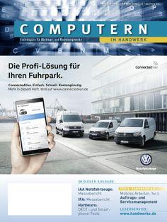 Aktuelles Heft Computern im Handwerk 10-11/2016 mit IAA-Messebericht aus Hannover zu #Handwerkerfahrzeug Angeboten