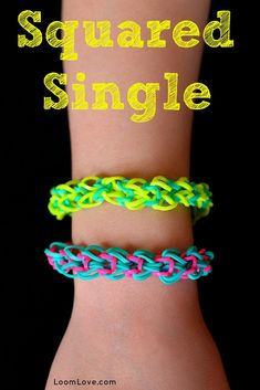 How To Make Rainbow Loom Bracelets -Rainbow Loom Instructions and Patterns – Loo… Comment faire des bracelets Rainbow Loom – Instructions et modèles Rainbow Loom – Loom Love Rainbow Loom Bracelets Easy, Loom Band Bracelets, Rainbow Loom Tutorials, Rainbow Loom Patterns, Rainbow Loom Bands, Rubber Band Bracelet, Loom Love, Fun Loom, Loom Bands Tutorial