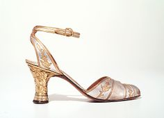 Perugia Sandals - 1928-9 - by André Perugia (French, 1893-1977) - Leather, metal - The Metropolitan Museum of Art - @~ Mlle