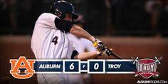 Auburn Baseball Postgame Graphic