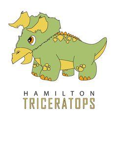Hamilton Triceratops.