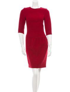 Oscar de la Renta Boucl� Dress