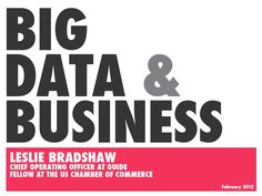 a-primer-on-big-data-for-business by Leslie Bradshaw via Slideshare