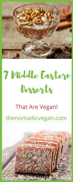 7 Middle Eastern Desserts That You Won't Believe Are Vegan
