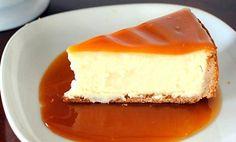 Cheesecake de Caramelo - http://www.sobremesasdeportugal.pt/cheesecake-de-caramelo-2/
