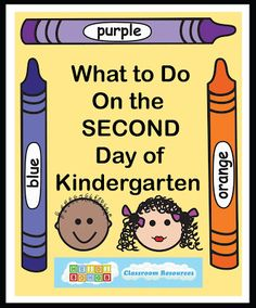 Heidisongs Resource: What To Do on the Second Day of Kindergarten