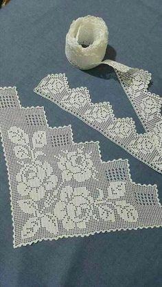 Crochet and Knitting Crochet Hood, Crochet Lace Edging, Crochet Motifs, Crochet Borders, Thread Crochet, Love Crochet, Crochet Granny, Filet Crochet, Crochet Doilies
