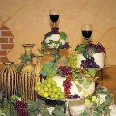 wine themed wedding cakes - Google Search